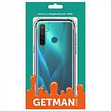 GETMAN TPU чехол GETMAN Ease с усиленными углами для Realme 5 / Realme 6i, фото 4
