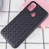 Epik PU чехол-накладка Epik Weaving series для Samsung Galaxy M30s / M21, фото 2