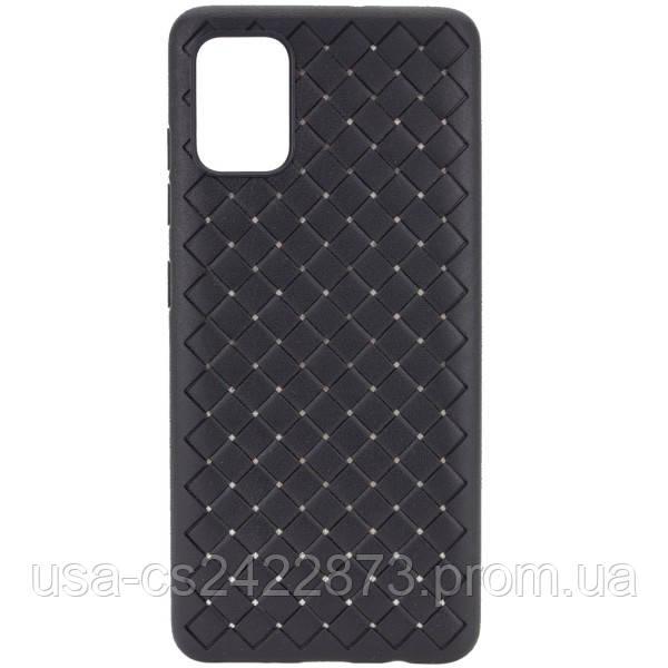 Epik PU чехол-накладка Epik Weaving series для Samsung Galaxy A71