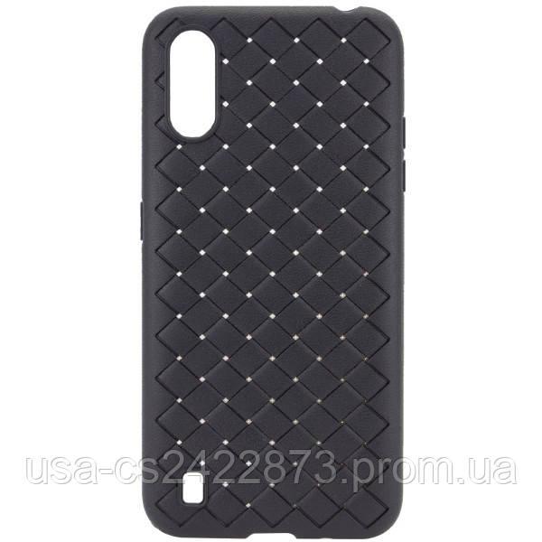 Epik PU чехол-накладка Epik Weaving series для Samsung Galaxy A01