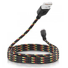 USB дата кабель Lightning для Apple Iphone 5 6 7 8 X XS XR, в обплетенні