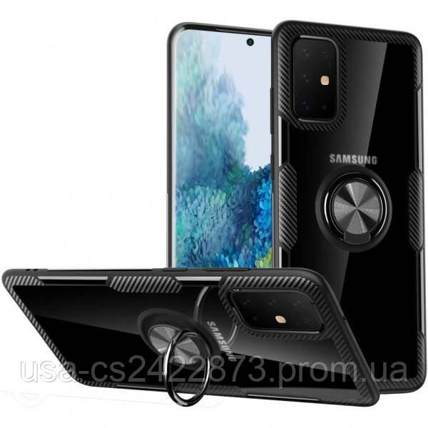Deen TPU+PC чехол Deen CrystalRing for Magnet (opp) для Samsung Galaxy A51