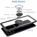 Deen TPU+PC чехол Deen CrystalRing for Magnet (opp) для Samsung Galaxy A51, фото 2