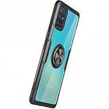 Deen TPU+PC чехол Deen CrystalRing for Magnet (opp) для Samsung Galaxy A51, фото 4