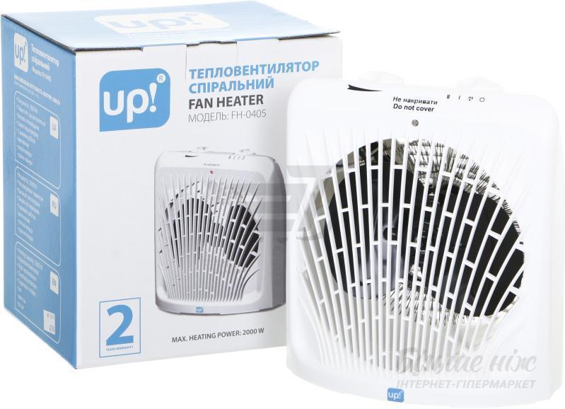 Спиральный тепловентилятор UP! 2000 Вт.