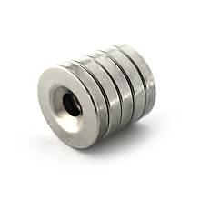 Диск 15х2,7 мм, отвір 4 мм Зчеплення ≈ 2,4 кг 10 шт.