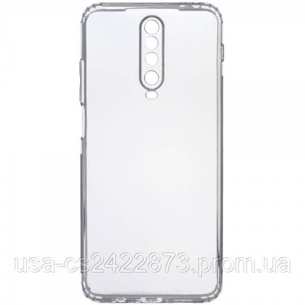 TPU чехол GETMAN Transparent 1,0 mm для Xiaomi Redmi K30