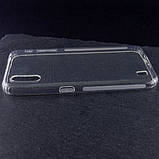 TPU чехол GETMAN Transparent 1,0 mm для Samsung Galaxy A01, фото 2