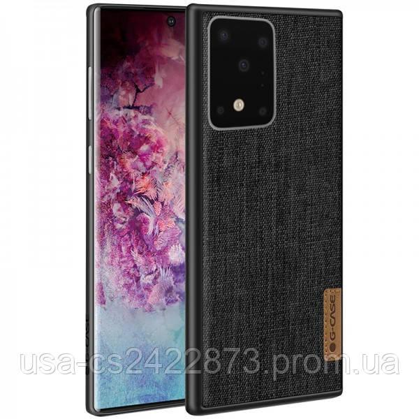 Накладка G-Case Textiles Dark series для Samsung Galaxy S20 Ultra