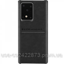 Кожаная накладка G-Case Cardcool Series для Samsung Galaxy S20 Ultra