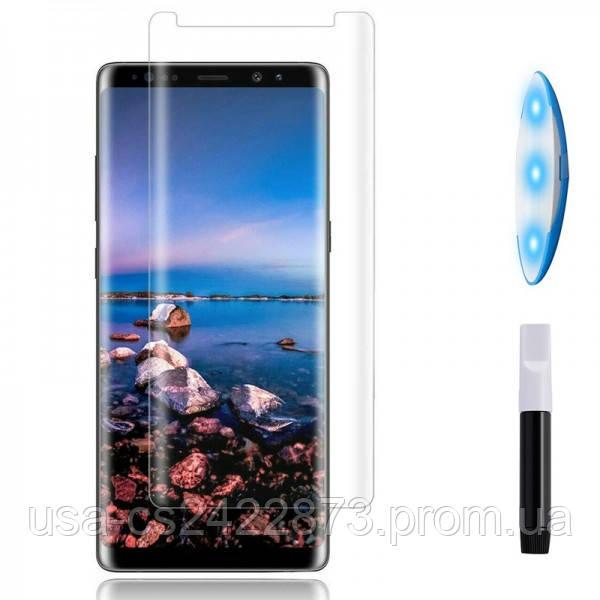 Защитное 3D стекло UV для Samsung Galaxy Note 8