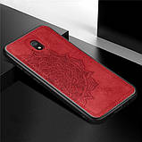 Epik TPU+Textile чехол Mandala с 3D тиснением для Xiaomi Redmi 8a, фото 7