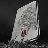 Epik TPU+Textile чехол Mandala с 3D тиснением для Xiaomi Redmi 8a, фото 10