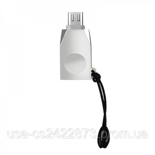Переходник Hoco UA10 OTG USB to MicroUSB