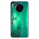 TPU+Glass чехол светящийся в темноте для Huawei Mate 30, фото 5