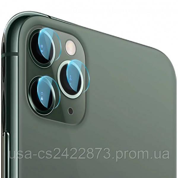 Защитное стекло 0.2mm на заднюю камеру (тех.пак) для Apple iPhone 11 Pro / 11 Pro Max