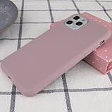 """Epik Силиконовый чехол Epic матовый для Apple iPhone 11 Pro (5.8""""), фото 2"""