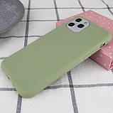 """Epik Силиконовый чехол Epic матовый для Apple iPhone 11 Pro (5.8""""), фото 4"""