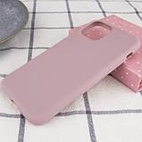 """Epik Силиконовый чехол Epic матовый для Apple iPhone 11 Pro (5.8""""), фото 5"""