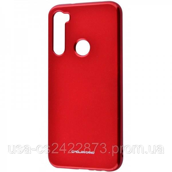 Molan Cano TPU чехол Molan Cano Glossy для Xiaomi Redmi Note 8