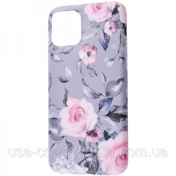 "Epik TPU чехол Flowers Series для Apple iPhone 11 Pro Max (6.5"")"
