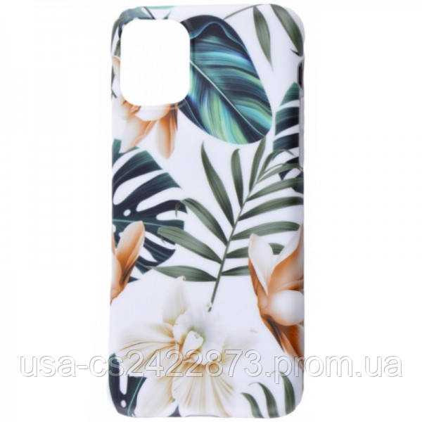 "TPU чехол Flowers Series для Apple iPhone 11 Pro (5.8"")"