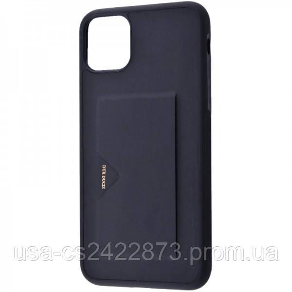 "Кожаная накладка Dux Ducis Pocard для Apple iPhone 11 Pro Max (6.5"")"