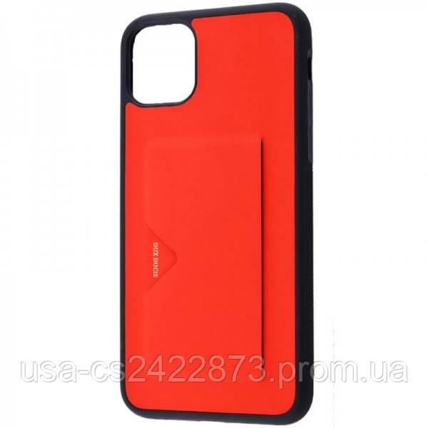"""Dux Ducis Кожаная накладка Dux Ducis Pocard для Apple iPhone 11 Pro (5.8"""")"""
