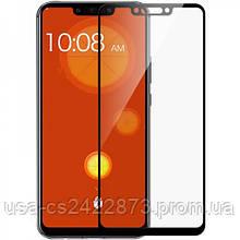 Защитное цветное стекло Mocoson 5D (full glue) для Huawei Mate 20 lite