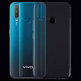 TPU чехол Epic Transparent 2,00 mm для Vivo Y15 / Y17, фото 3