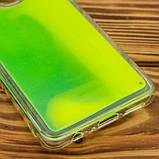 Epik Неоновый чехол Neon Sand glow in the dark для Samsung Galaxy A10s, фото 7