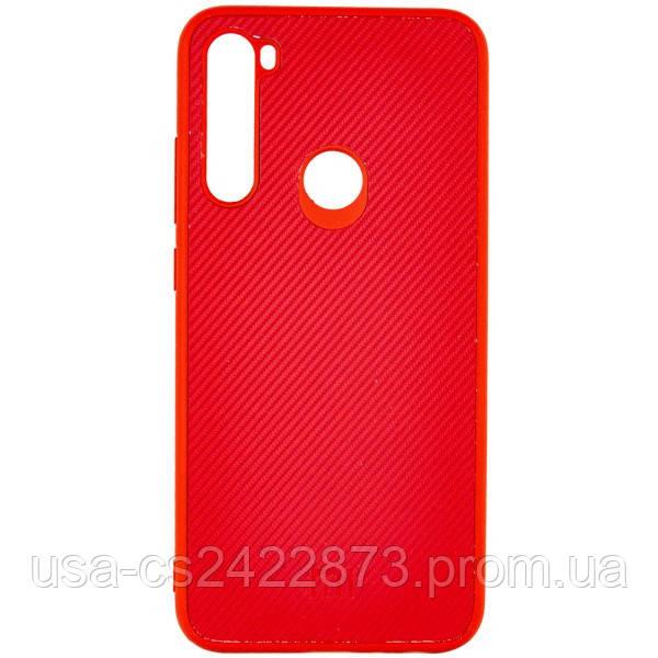 TPU чехол Fiber Logo для Xiaomi Redmi Note 8