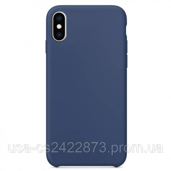 """Чехол Silicone Case without Logo (AA) для Apple iPhone X / XS (5.8"""")"""