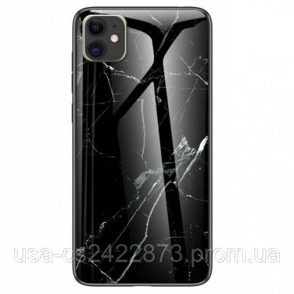 "Epik TPU+Glass чехол Luxury Marble для Apple iPhone 11 (6.1"")"
