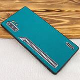 Shengo TPU чехол SHENGO Textile series для Samsung Galaxy Note 10 Plus, фото 5