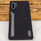 Shengo TPU чехол SHENGO Textile series для Samsung Galaxy Note 10 Plus, фото 6