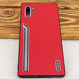 Shengo TPU чехол SHENGO Textile series для Samsung Galaxy Note 10 Plus, фото 8