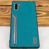 Shengo TPU чехол SHENGO Textile series для Samsung Galaxy Note 10 Plus, фото 9