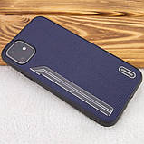 "TPU чехол SHENGO Textile series для Apple iPhone 11 (6.1""), фото 5"