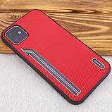 "TPU чехол SHENGO Textile series для Apple iPhone 11 (6.1""), фото 7"