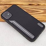 "TPU чехол SHENGO Textile series для Apple iPhone 11 (6.1""), фото 8"