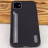 "TPU чехол SHENGO Textile series для Apple iPhone 11 (6.1""), фото 9"