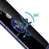 "Deen TPU+PC чехол Deen CrystalRing под магнитный держатель для Apple iPhone 11 Pro Max (6.5""), фото 3"