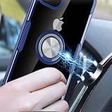 "Deen TPU+PC чехол Deen CrystalRing под магнитный держатель для Apple iPhone 11 Pro Max (6.5""), фото 4"