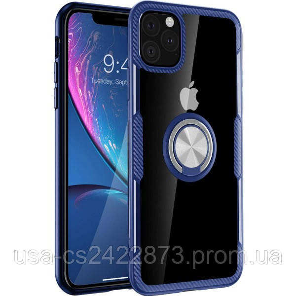 "Deen TPU+PC чехол Deen CrystalRing под магнитный держатель для Apple iPhone 11 Pro (5.8"")"