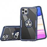 "Deen TPU+PC чехол Deen CrystalRing под магнитный держатель для Apple iPhone 11 Pro (5.8""), фото 3"