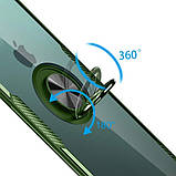 "Deen TPU+PC чехол Deen CrystalRing под магнитный держатель для Apple iPhone 11 Pro (5.8""), фото 4"