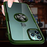 "Deen TPU+PC чехол Deen CrystalRing под магнитный держатель для Apple iPhone 11 Pro (5.8""), фото 7"