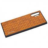 Кожаная накладка VORSON Braided leather series для Samsung Galaxy Note 10 Plus, фото 2
