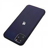 "Epik Кожаная накладка Classic series для Apple iPhone 11 Pro (5.8""), фото 3"